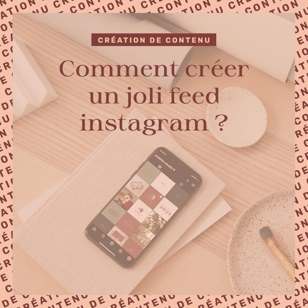 Comment créer un joli feed instagram ?